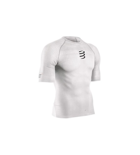 3D Thermo 50g SS Tshirt White L/XL