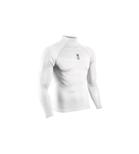 3D Thermo 110g LS Tshirt White L/XL