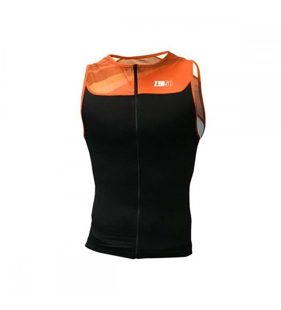 Zerod koszulka Start Trisinglet Black/Orange L