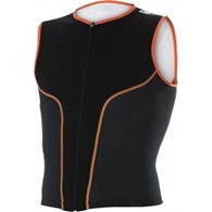 Zerod koszulka iSINGLET Black/Orange L