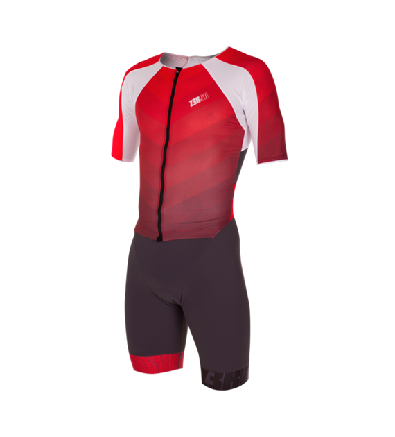 Zerod Racer TTSuit Man Grey/Red L