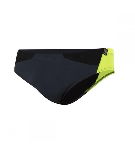 Zerod Briefs Grey/Fluo S